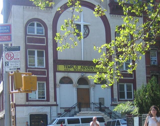 A Bowery Synagogue -